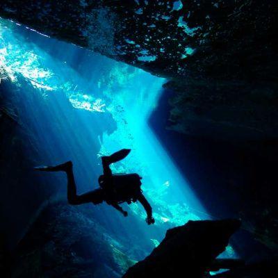 Cenote Diving near Tulum, Riviera Maya